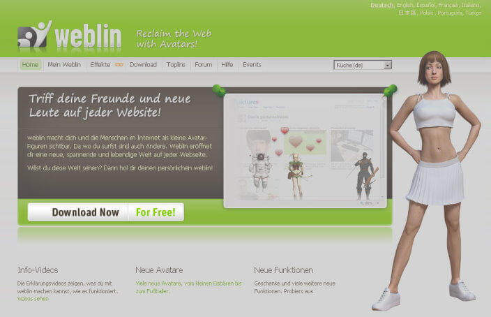 Bild - Weblin reloaded (Download-Link)